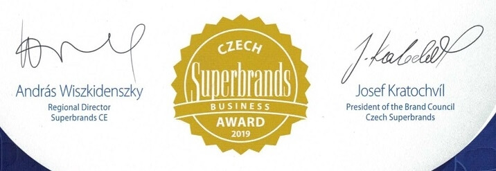 Ocenění Business Superbrands 2019